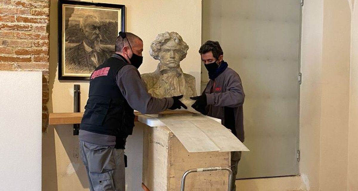 Casale fornisce due opere di Leonardo Bistolfi a Rovigo per la mostra Vedere la Musica
