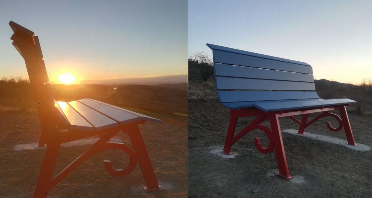 Casasco ha una nuova panchina ma è gigante ed è la prima Big Bench nella zona