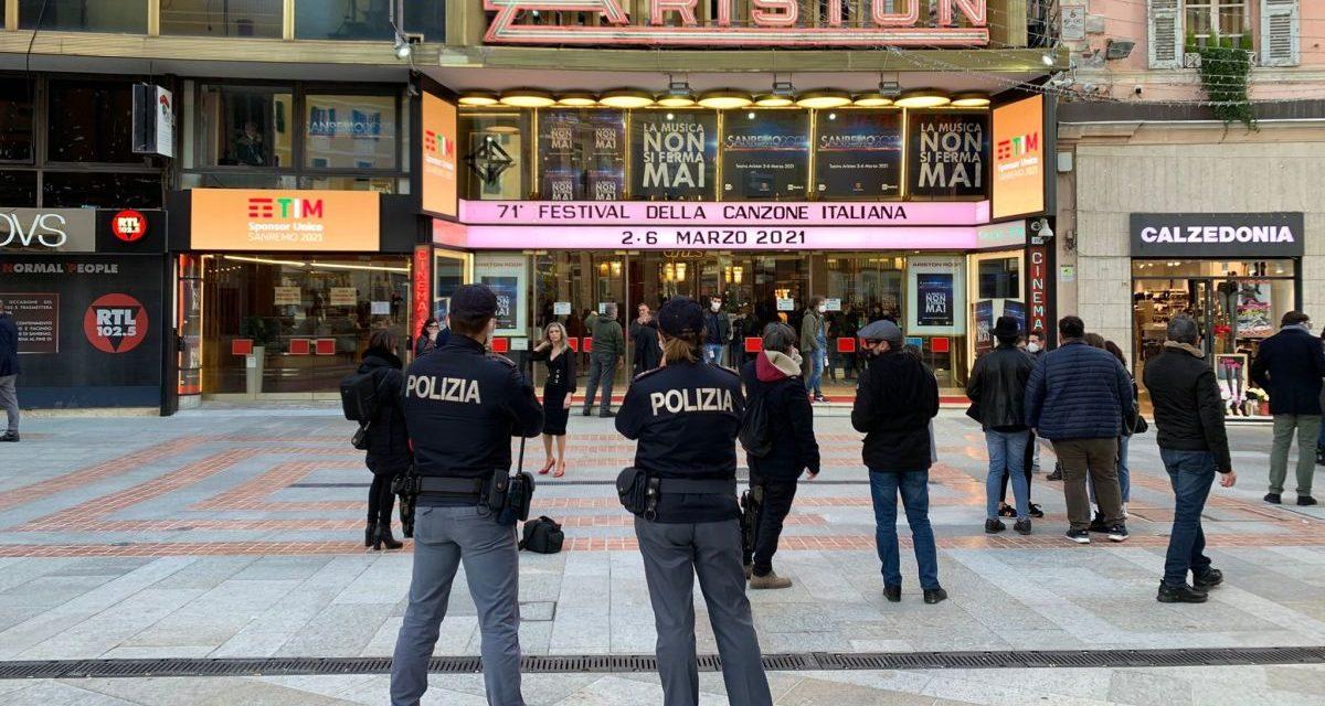 71° Festival di Sanremo: il dispositivo di sicurezza della Polizia
