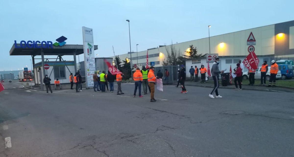 Ieri al Polo Logistico di Torre Garofoli  e Pontecurone la protesta dei lavoratori