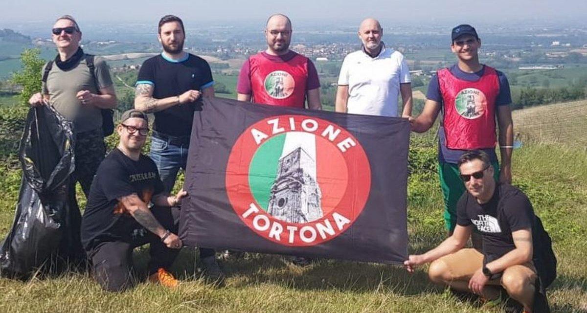 Azione Tortona ripulisce alcuni fossi nelle colline  tortonesi