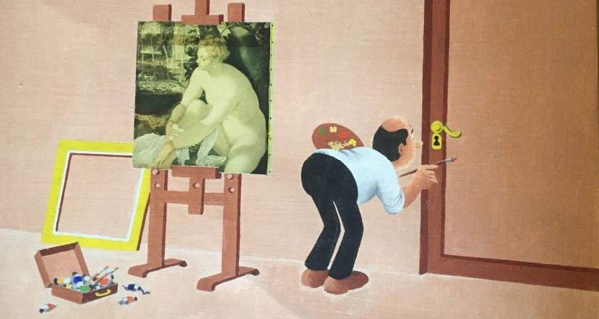 Bort ha regalato questo dipinto al Comune di Alessandria