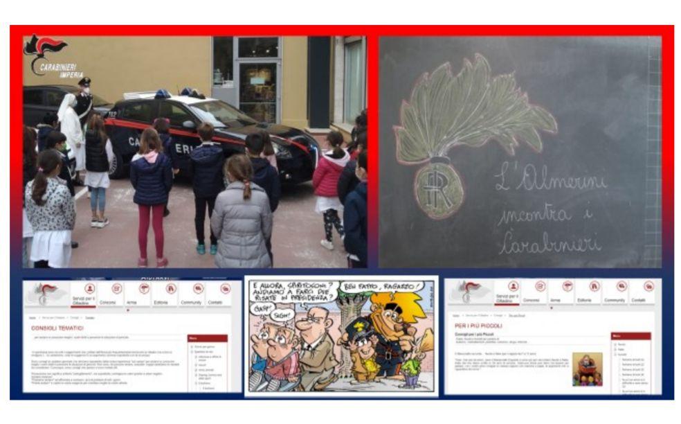 I carabinieri di Sanremo in visita nelle scuole
