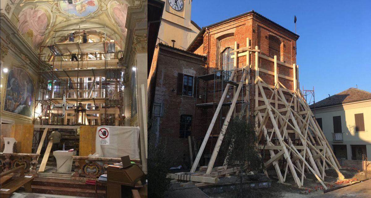 La parrocchia di Carbonara e i restauri: la situazione e l'appello per trovare quello che ancora manca