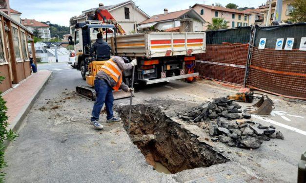 Si rompe la fogna a San Bartolomeo, i lavori dureranno circa tre giorni