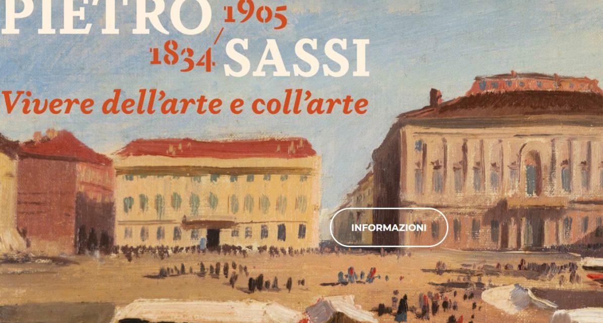 Il virtual tour della mostra Pietro Sassi ad Alessandria anche per sostenere la ricerca