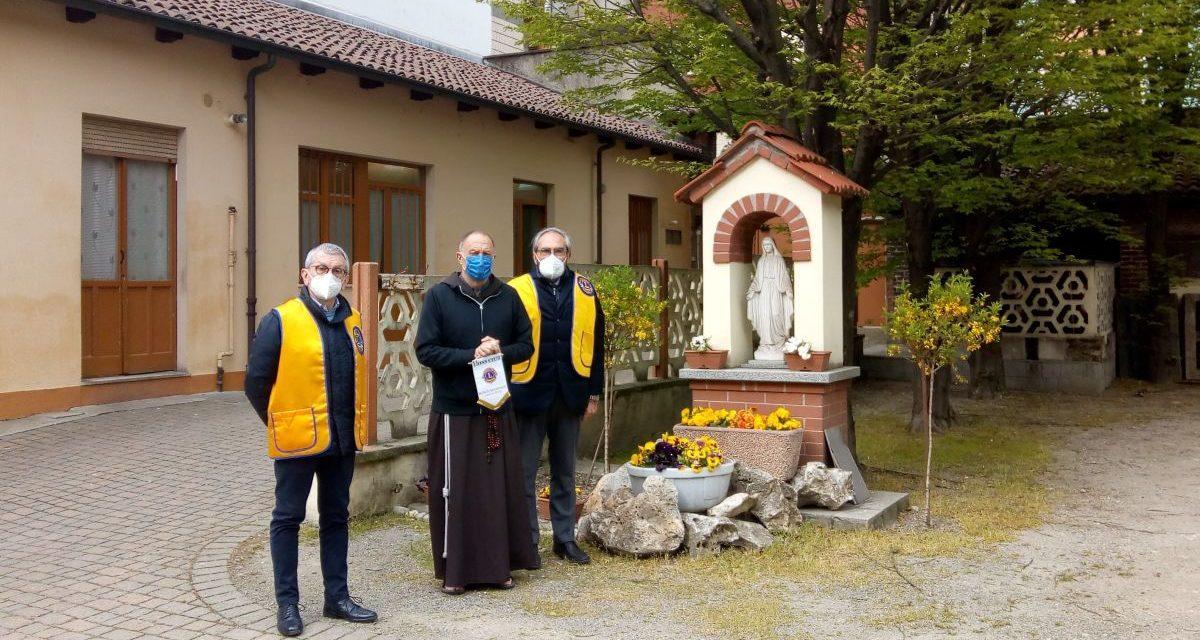 Bella iniziativa del Rotary di Bosco Marengo alla mensa dei frati di Alessandria