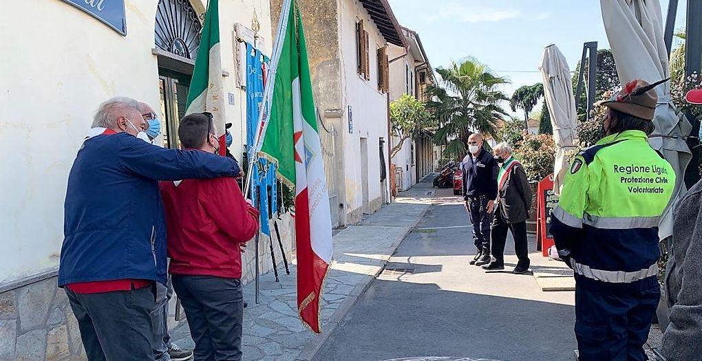 San Bartolomeo al mare ha celebrato il 25 aprile