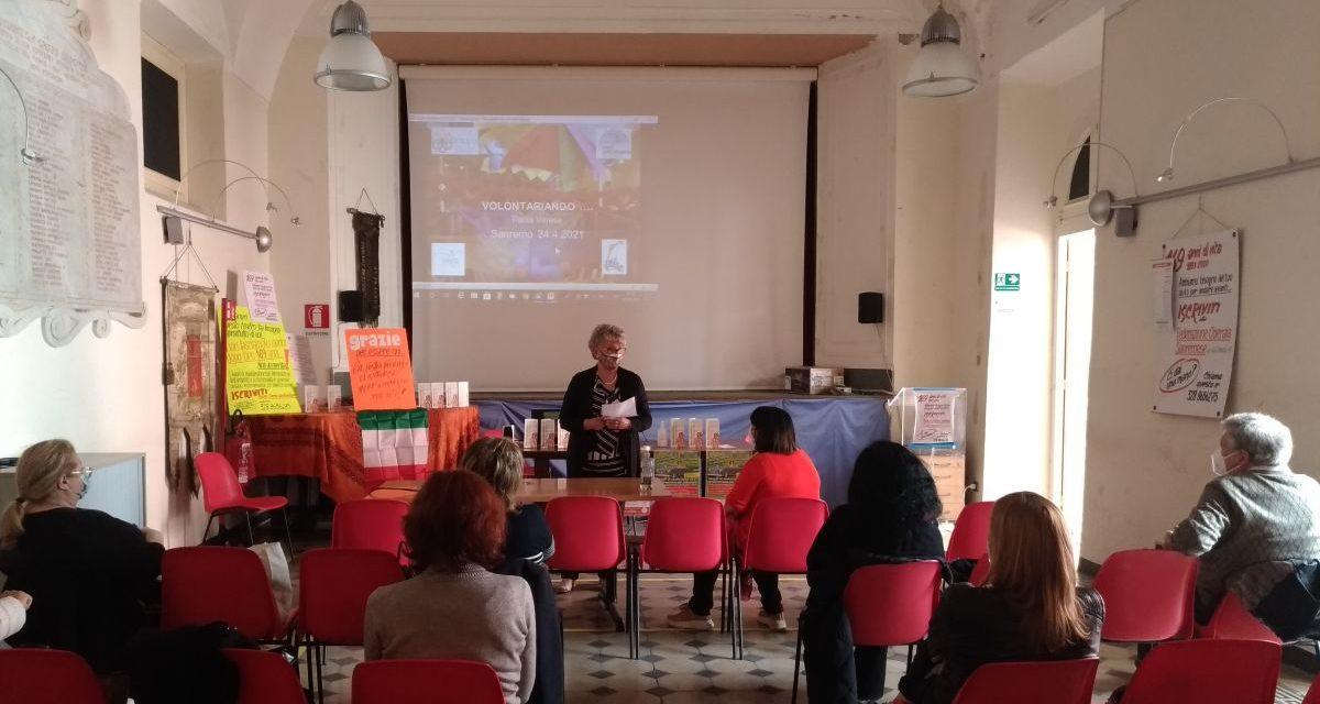 """""""Volontariando…"""" prosegue la serie di incontri formativi di NonSiamoSoli alla Federazione Operaia Sanremese"""