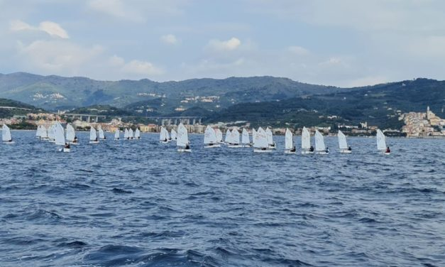 Due giorni di regate a Diano Marina con il Meeting Nazionale Optimist