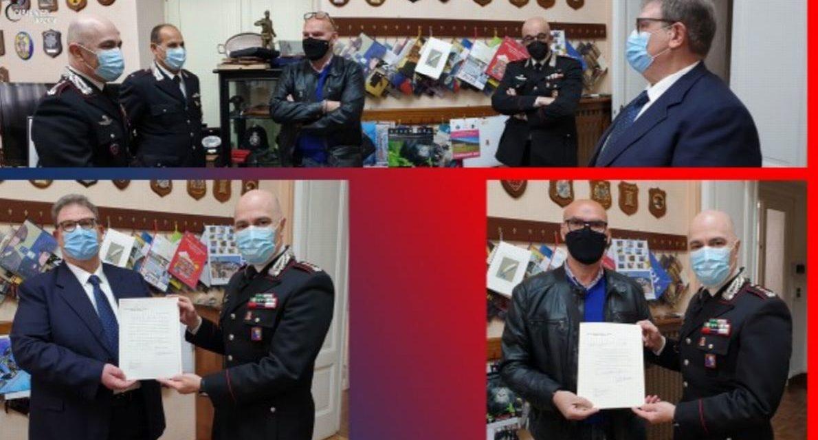 Vanno in pensione due conosciuti Carabinieri di Imperia