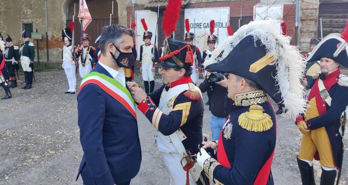 Tortona ha ricordato la morte di Napoleone con una manifestazione a Torre Garofoli