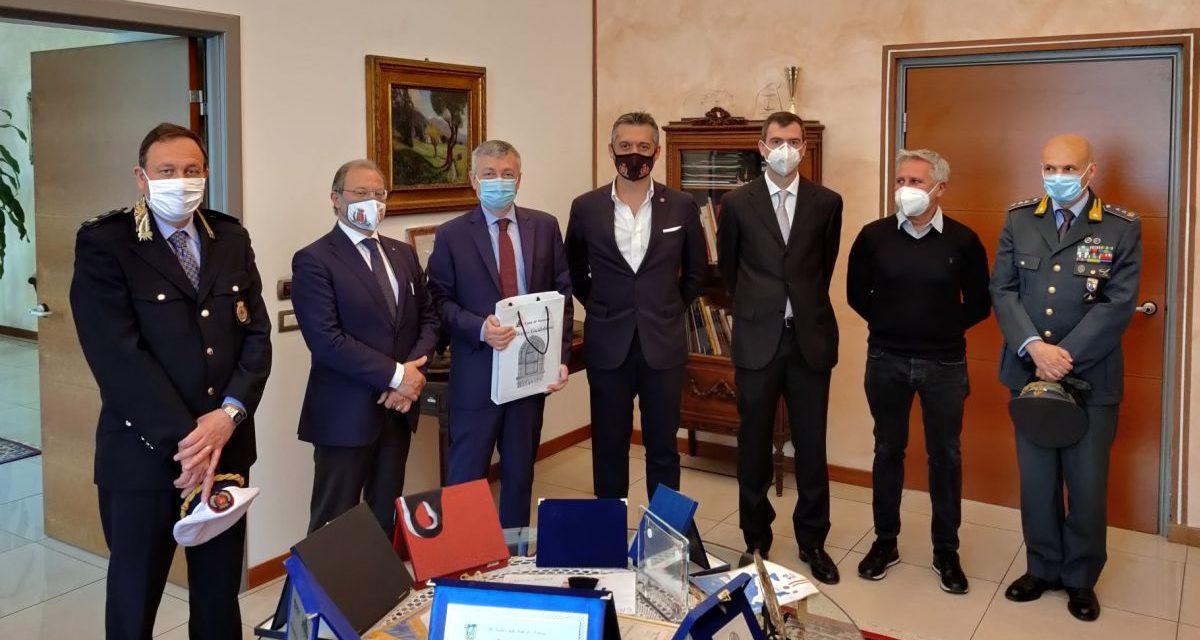 Il nuovo prefetto di Alessandria in visita a Tortona per conoscere Sindaco e Giunta