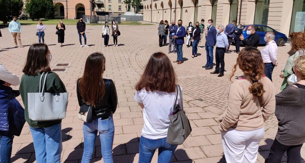 Il Comune di Tortona dà il benvenuto ai 25 giovani del Servizio Civile. Le immagini