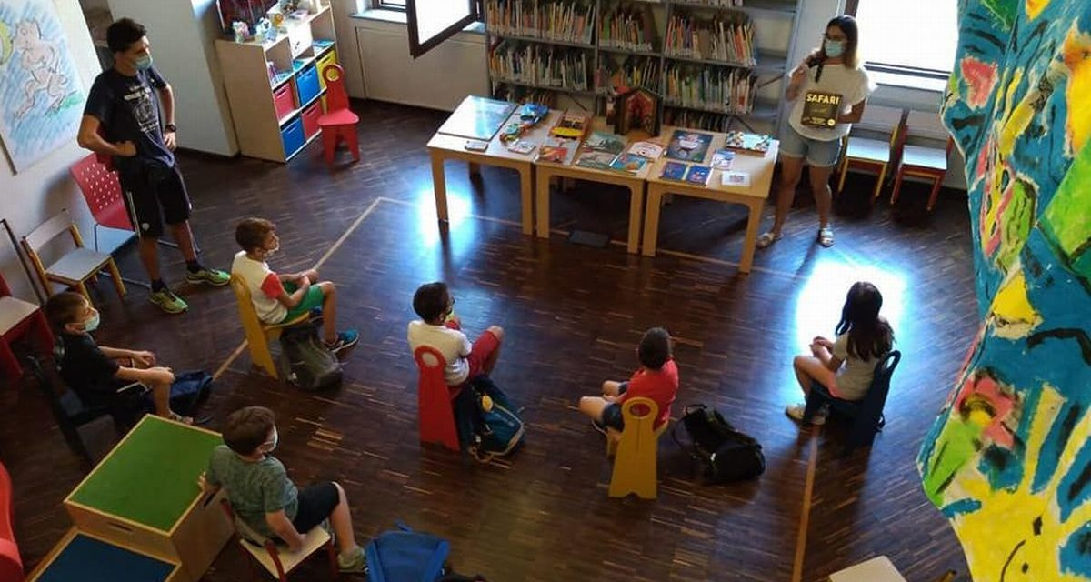 Biblioteca Luzzati a Casale, da domani tornano le iniziative in presenza