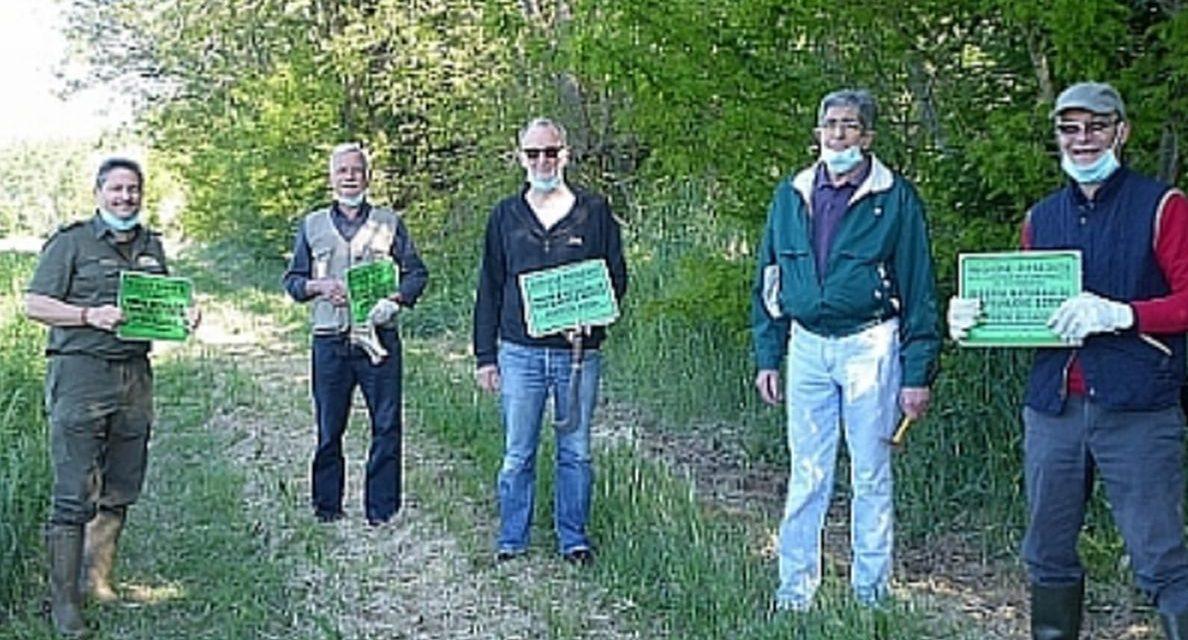 E' iniziata la tabellazione della Riserva naturale a Castelnuovo Scrivia