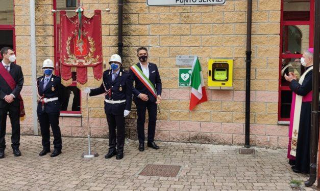 A Tortona installato il secondo defibrillatore. In memoria del Vigile Andrea Gastaldo