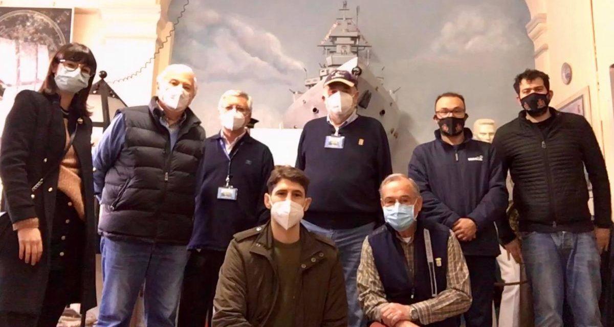 A Tortona i giovani consiglieri della Lega festeggiano il 1° maggio visitando il Museo del mare