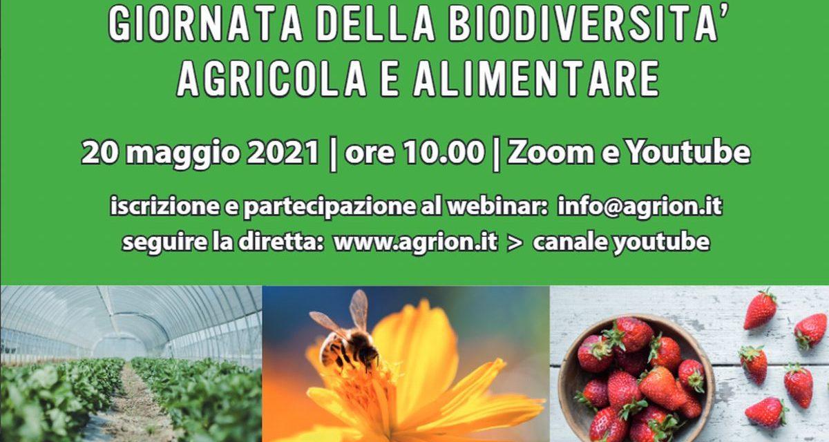 Giornata  della biodiversità agricola e alimentare, convegno online il 20 maggio