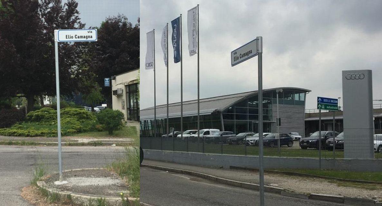 Alessandria intitola una via nella zona industriale D3 a Elio Camagna