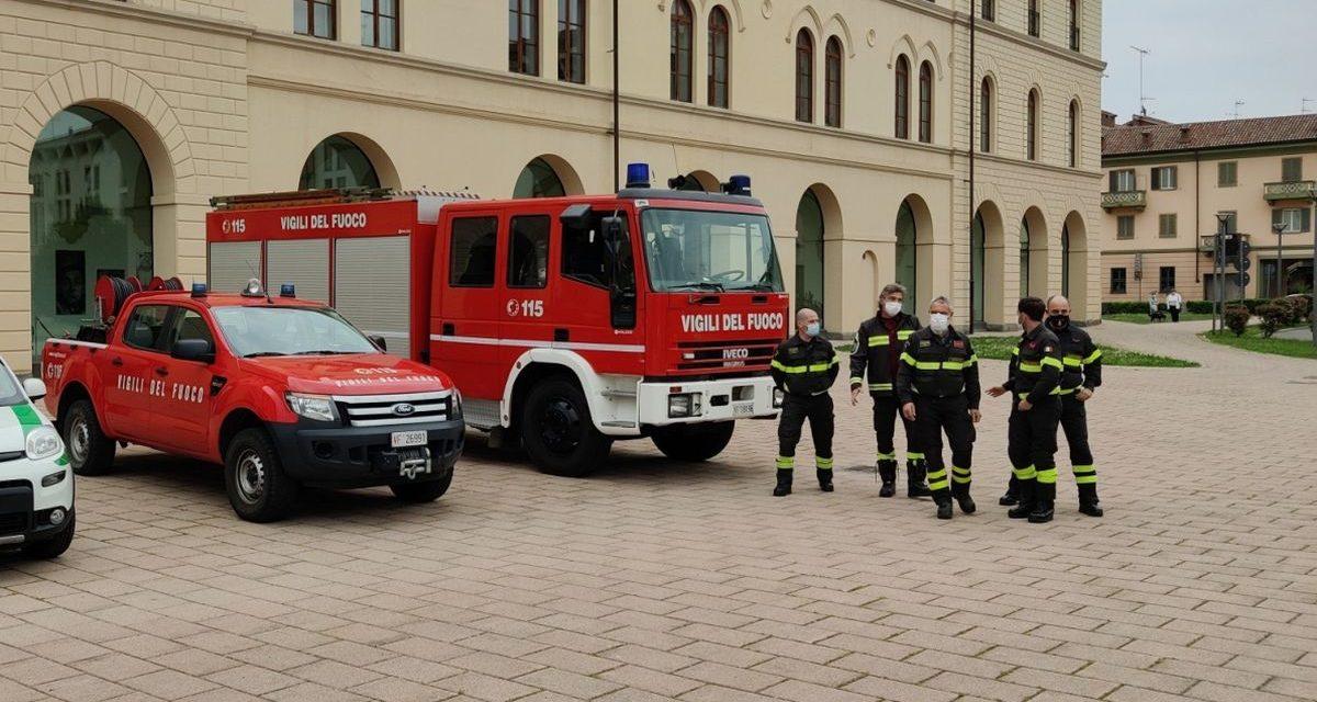 A Tortona e dintorni due incidenti stradali, un uomo intrappolato, uno stillicidio e un incendio