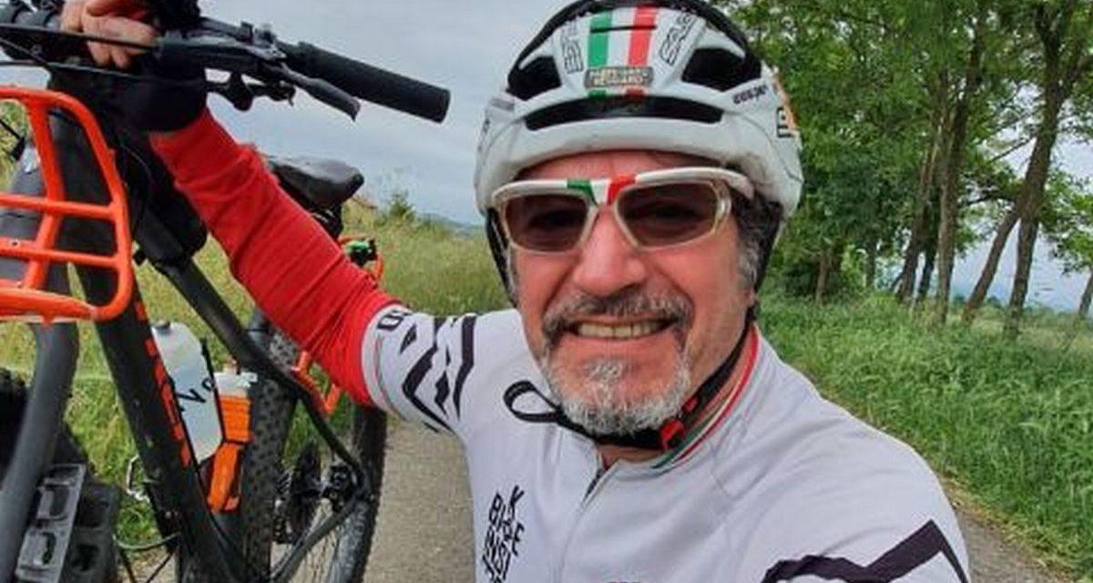 Al via una Nuova impresa del biker novese Angelo Bloisi