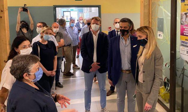 L'Assessore Regionale all'istruzione Elena Chiorino in visita a Tortona