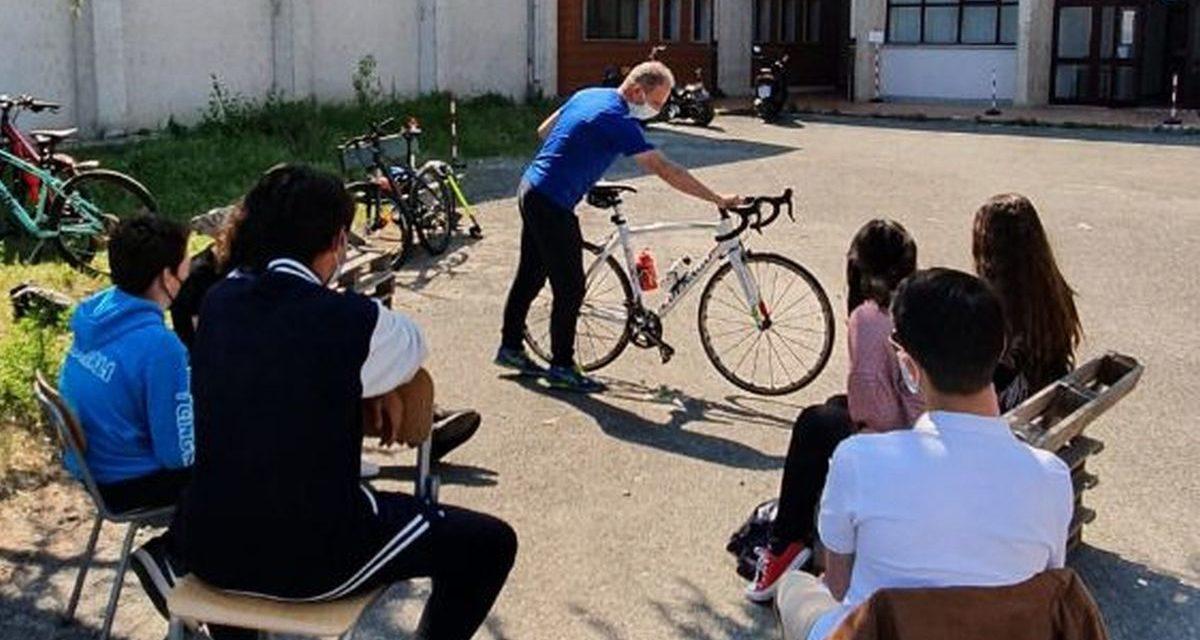 Al Liceo Amaldi di Novi Ligure ha preso il via un progetto sul ciclismo