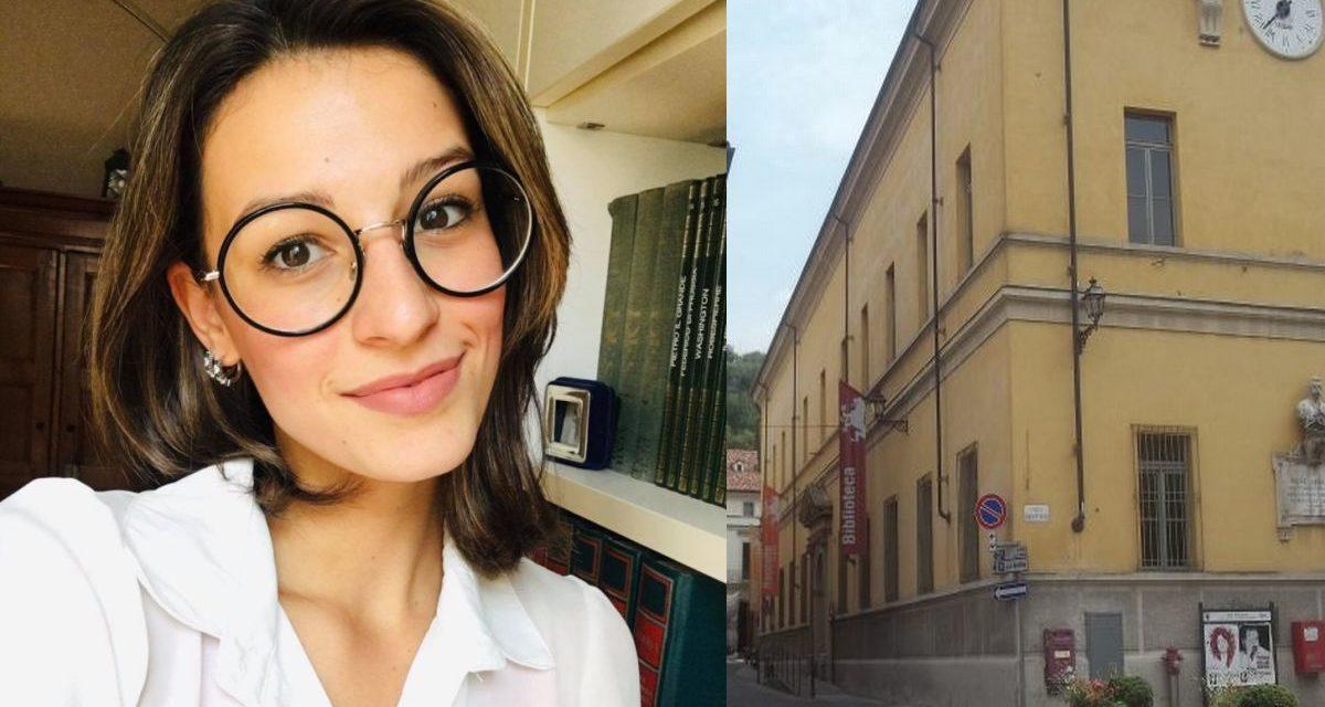 Il costante impegno di Anna Sgheiz valorizza la Biblioteca di Tortona
