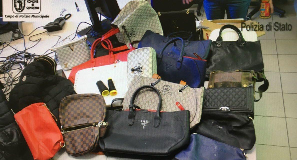 A Sanremo sequestrato un laboratorio artigianale per false griffe, denunciati due senegalesi