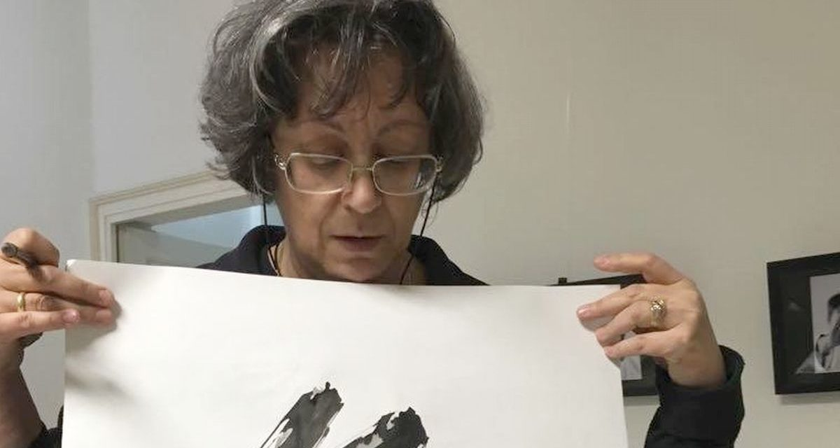 Sabato a Valenza c'è l'arte della calligrafia giapponese  con la maestra Vera Marchini