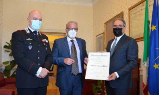 Due Carabinieri di Imperia nominati Cavalieri della Repubblica