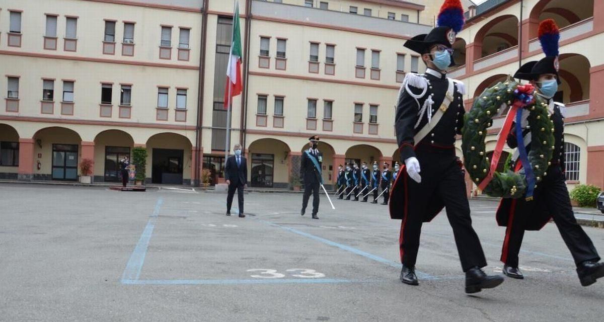 Ad Alessandria celebrata la festa dei Carabinieri: tutti i reati in diminuzione tranne quelli informatici