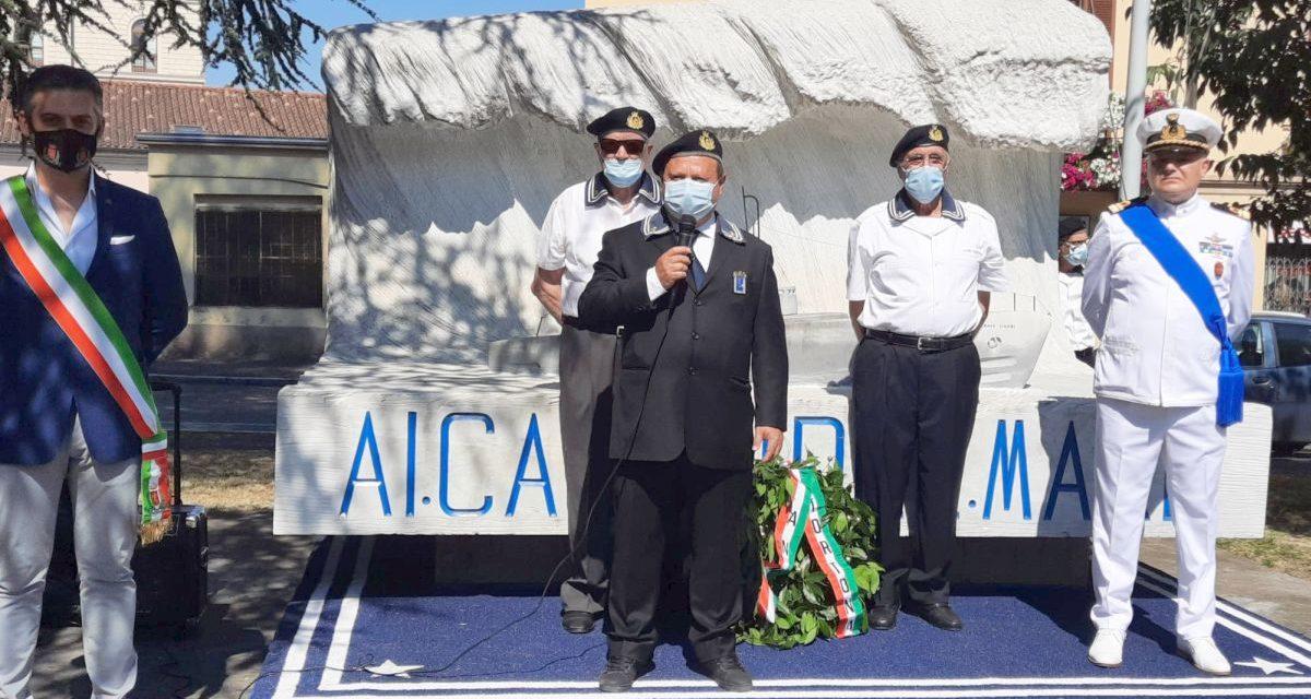 Ieri a Tortona la cerimonia per ricordare i caduti del mare nella Festa della Marina