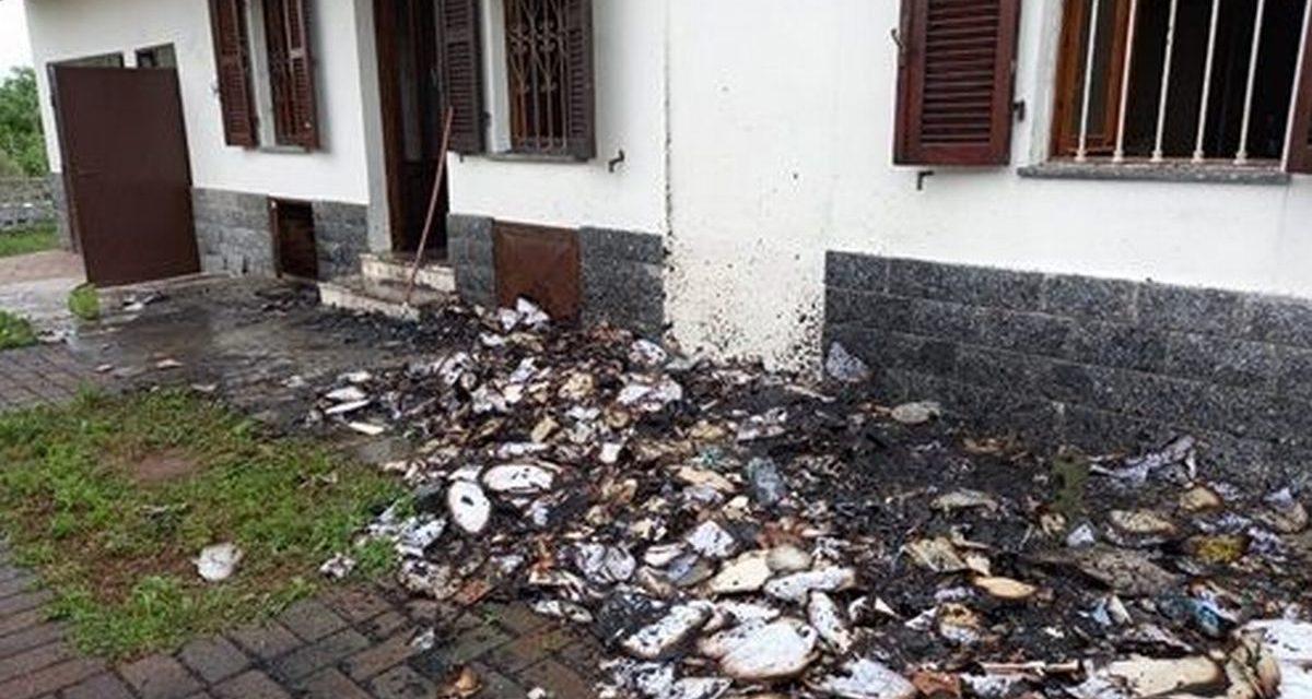 I Carabinieri della Compagnia di Casale denunciano un uomo per questo incendio doloso