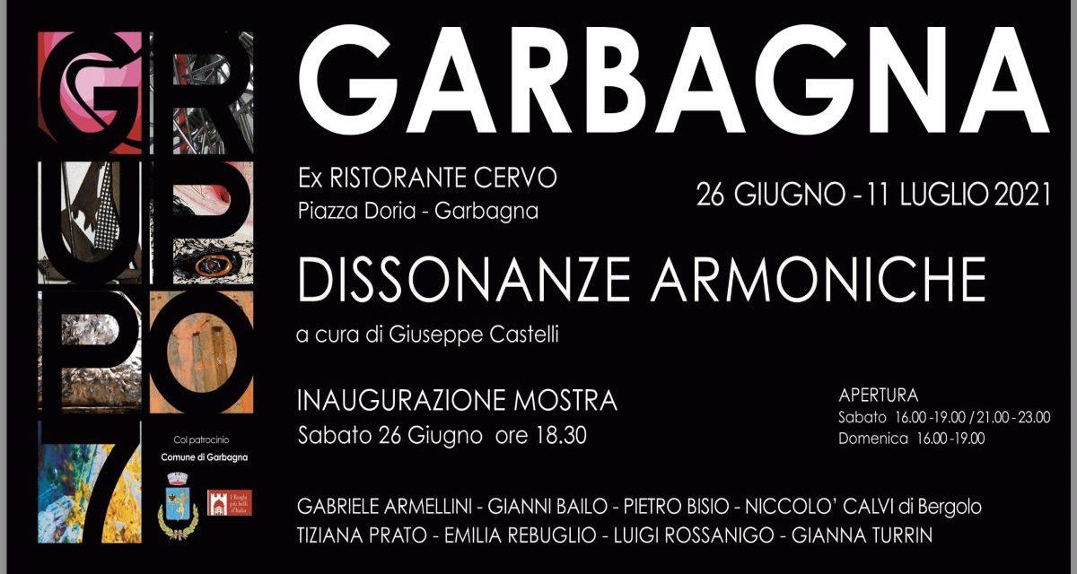 """Sabato a Garbagna si apre la mostra d'arte del """"Gruppo 7"""""""