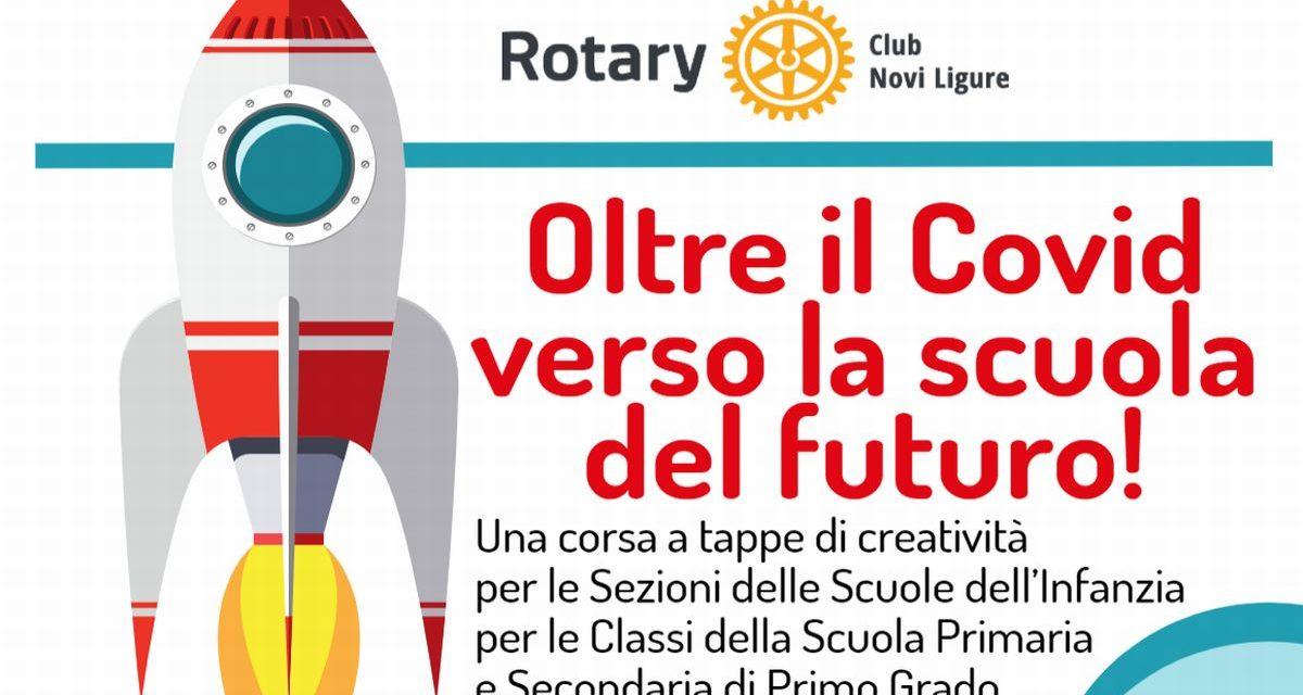 """Grazie al Rotary di Novi ecco elaborati, video e disegni creati dagli studenti per """"scacciare"""" l'incubo del Covid"""