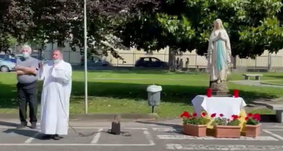 Al Mater Dei di Tortona concluso il Mese Mariano con ospiti e operatori