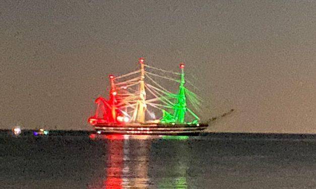 Nel Golfo Dianese é transitata la nave scuola