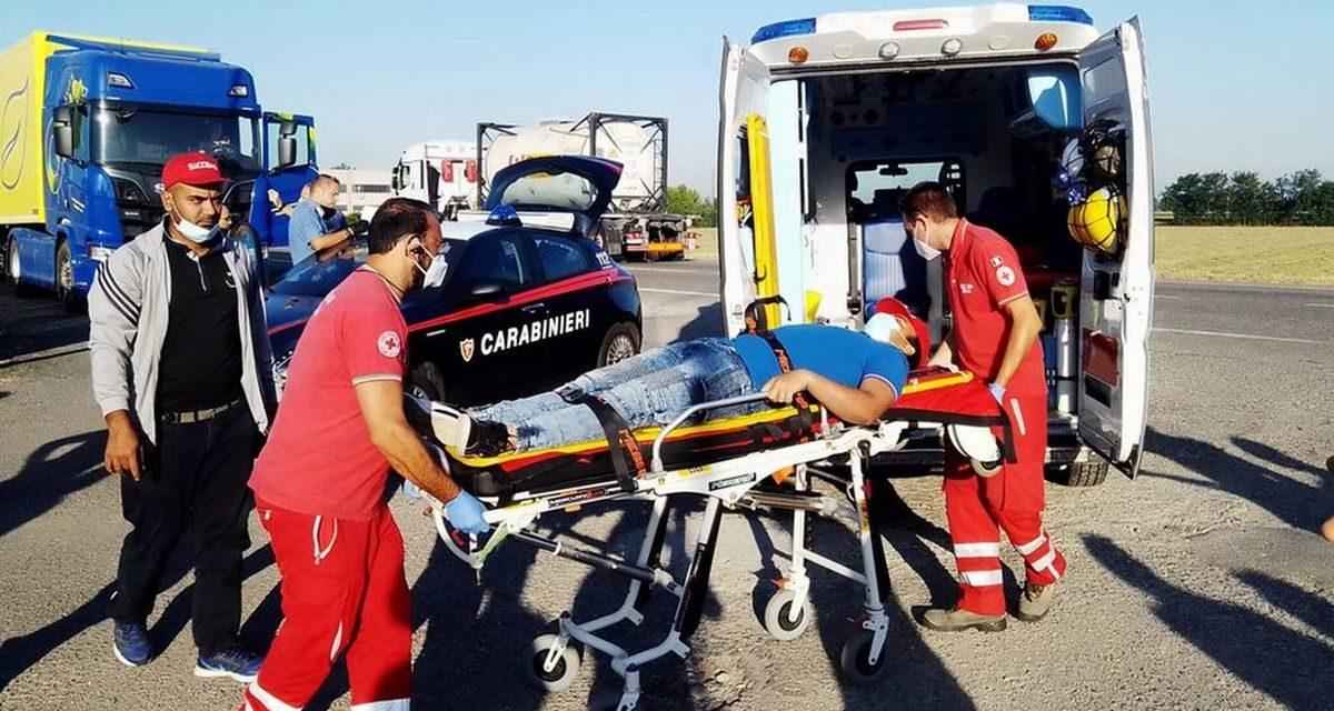 """Questo Operaio ferito durante uno sciopero a Pontecurone: il Sindacato """"Sì Cobas"""" sporge denuncia"""