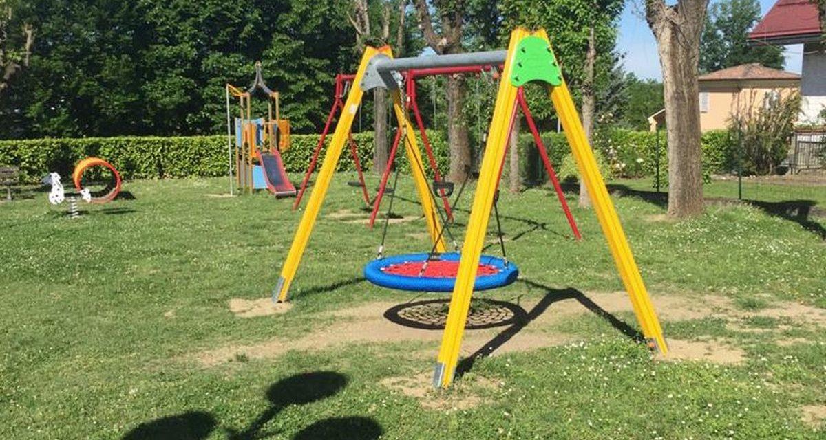 Grazie a uno sponsor Villaromagnano ha un nuovo parco giochi
