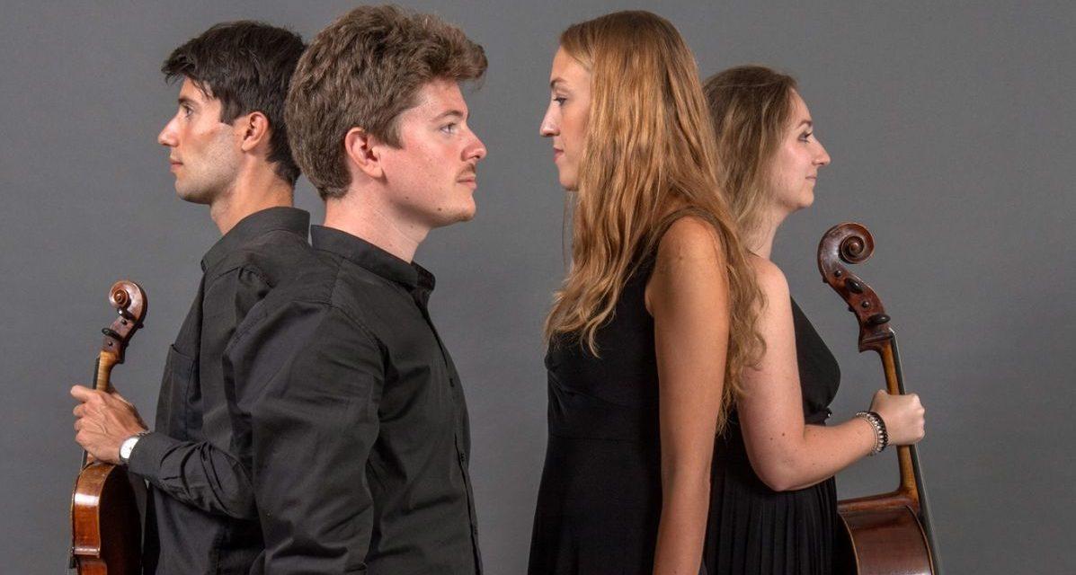 Sabato a Sale un concerto col quartetto Eridano, prenotatevi per tempo