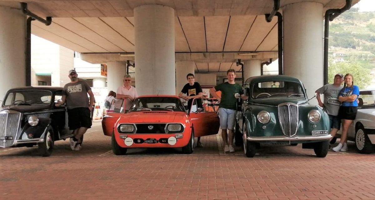 più di 250 partecipanti al 2° Raduno di Auto/Moto storiche di Taggia