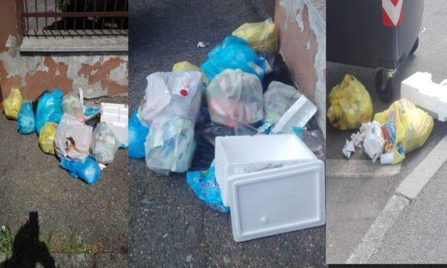 Tortonesi maleducati 1: abbandonano rifiuti in Centro