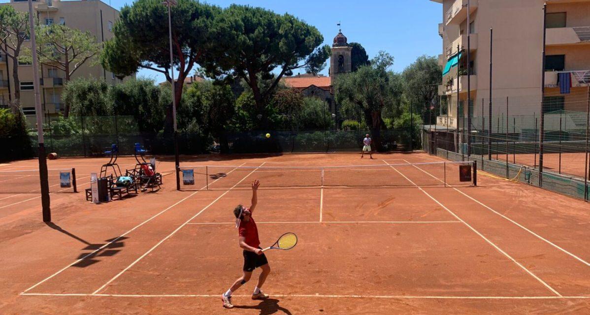 A Bordighera come al Roland Garros, l'Open al rush finale
