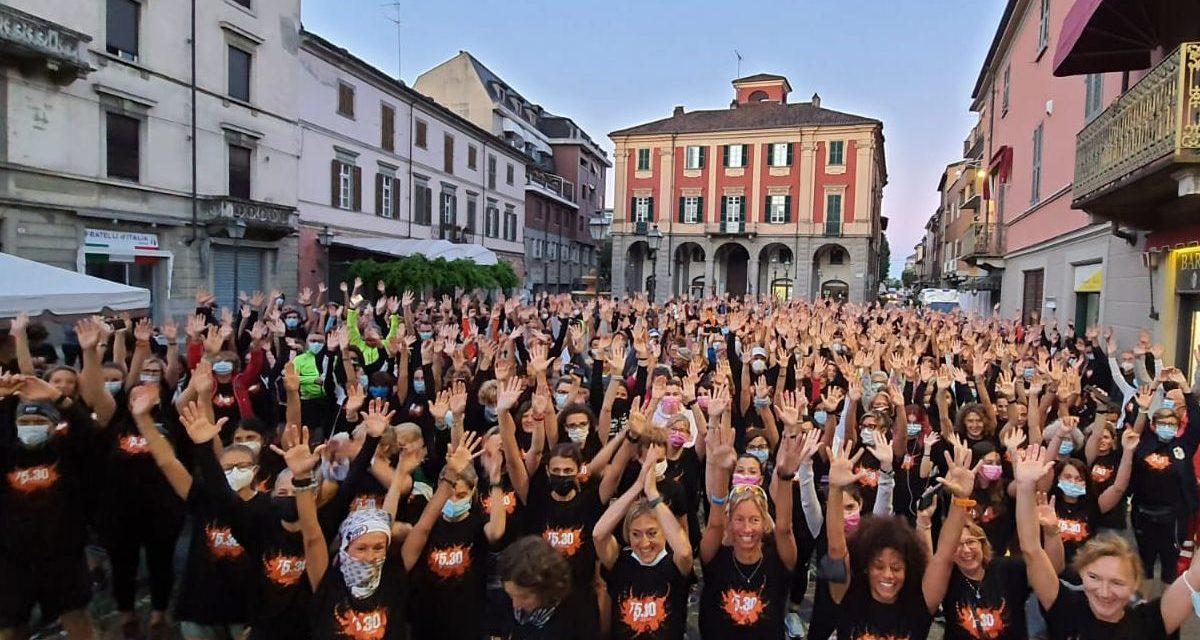 Grande successo alla 5:30 stamattina a Tortona: tutti in piazza all'alba. Le immagini di chi c'era