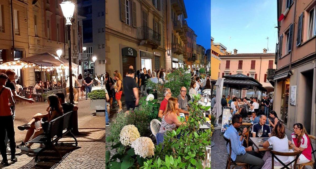 Un successo gli aperitivi del Giovedì a Tortona, alcune immagini