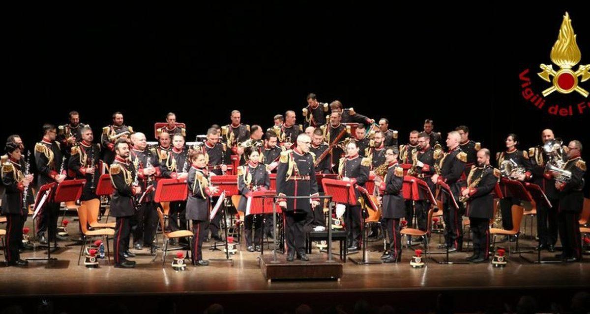 Sabato prossimo a Bosco Marengo un concerto della Banda Musicale dei Vigili del Fuoco