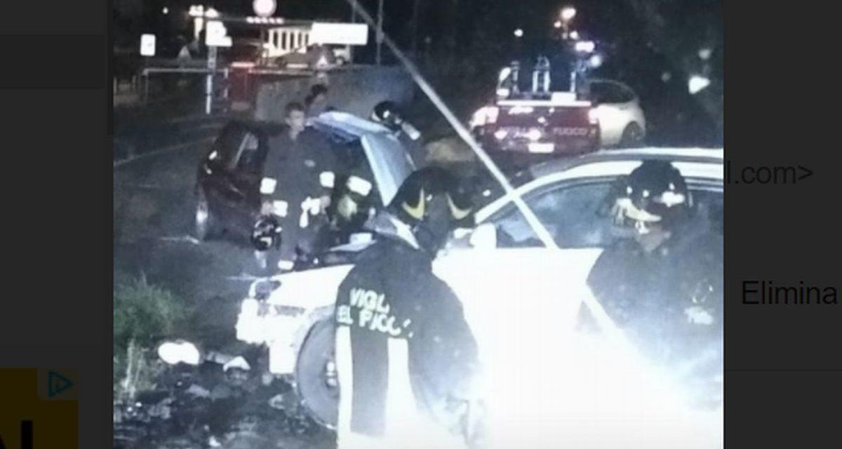 Schianto fra tre auto alla periferia di Tortona, un giovane con ferite serie