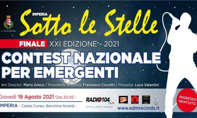 """Imperia, domani sera la finale del contest musicale """"Sotto le Stelle"""", appuntamento alle 20:45 in Banchina Aicardi"""